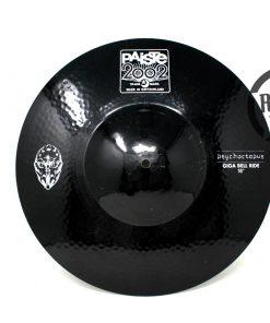 Paiste 2002 Black Psychoctopus Giga Bell Ride 18 Signature Aquiles Priester Cymbal Cymbals Piatto Piatti