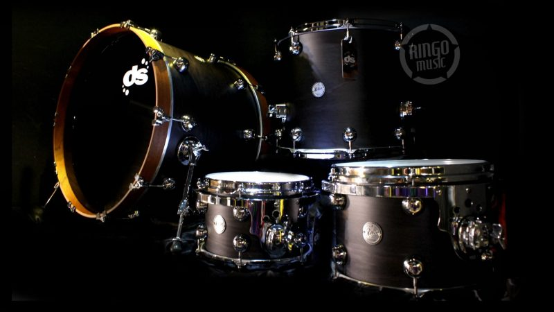 ds drumsound rebel maple mahogany acero mogano drum drums batteria