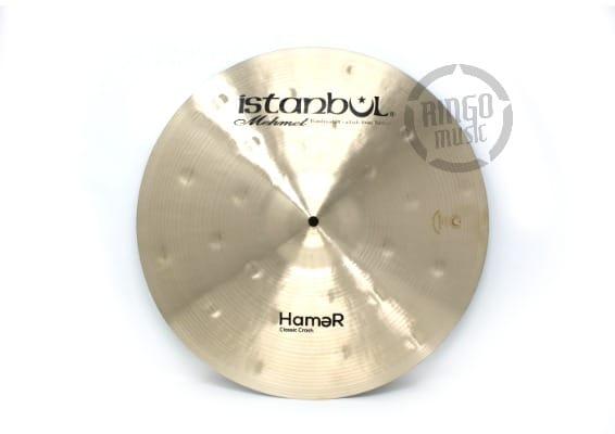 istanbul mehmet hamer flange crash 16 17 18 piatto cymbal classic split flange