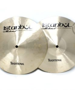 istanbul mehmet traditional hi-hat 12 light medium heavy flat cymbal piatto