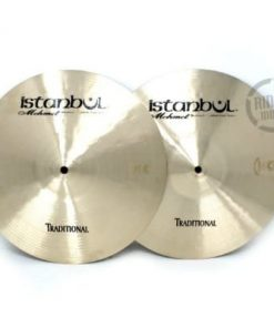 istanbul mehmet traditional hi-hat 13 light medium heavy flat cymbal piatto