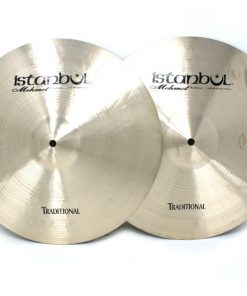istanbul mehmet traditional hi-hat 14 light medium heavy flat cymbal piatto