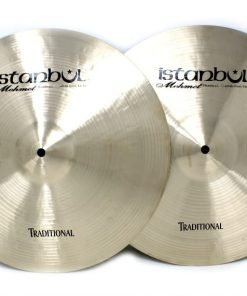 istanbul mehmet traditional hi-hat 15 light medium heavy flat cymbal piatto