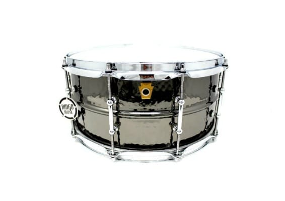 ludwig black beauty LB417KT rullante snare black nickel brass