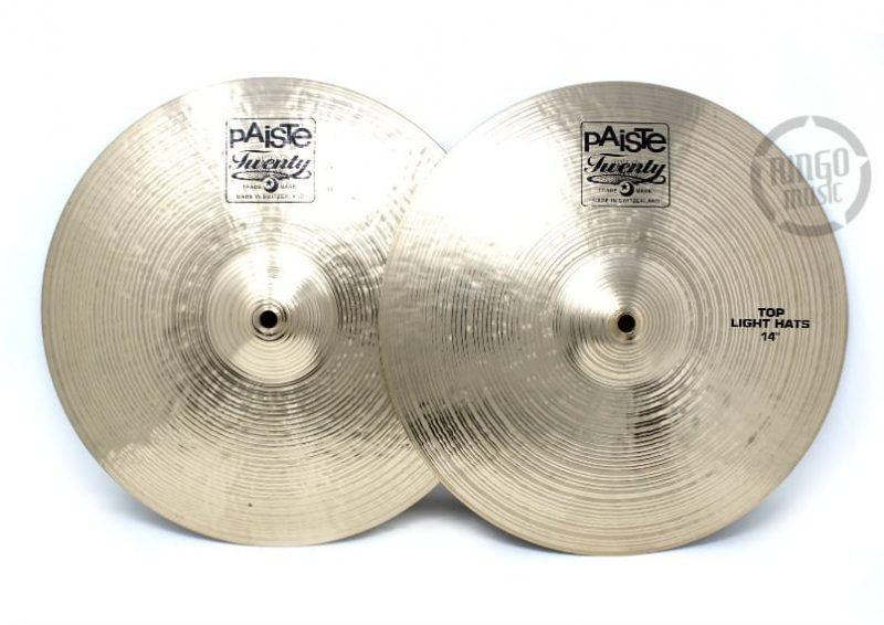 paiste twenty light hi-hat 14