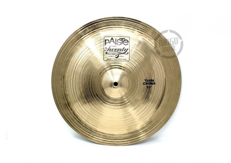 paiste twenty thin china 16 cymbal piatto