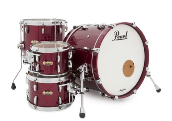 pearl masters maple reserve mrv904XEP saphir bordeaux sparkle