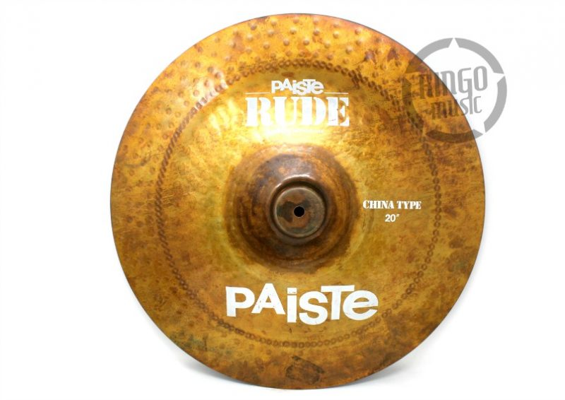Paiste Rude China 20 cymbal cymbals piatto