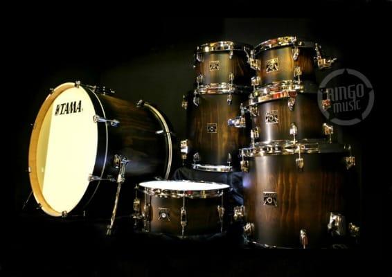 Tama Superstar Maple Classic Exotic Java Burst Lacebark Pine CL72RS-PJBP Drums Drum Batteria Acero