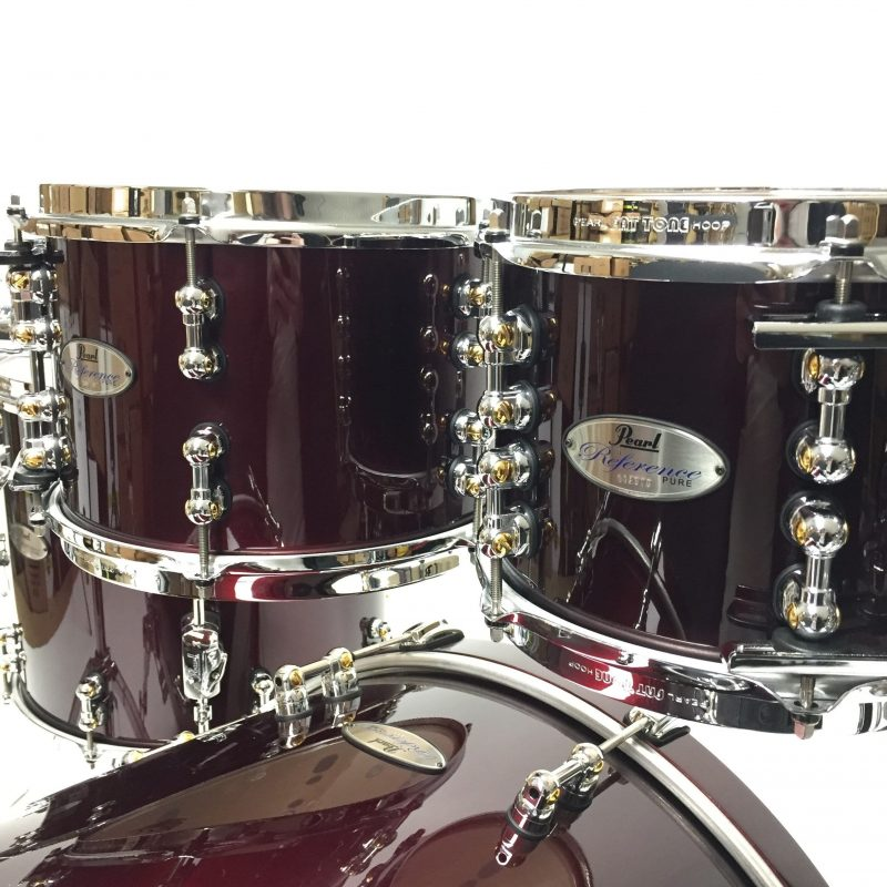 Pearl Drums Reference Pure RFP924XP Black Cherry Drum Drumset Batteria 1