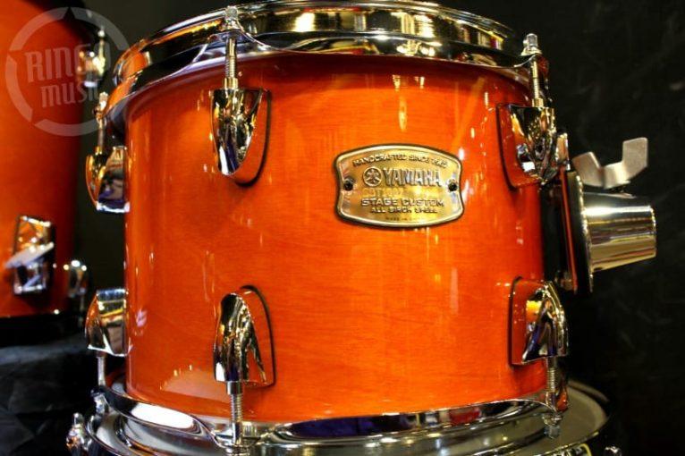 Yamaha Stage Custom Birch Fusion Kit Honey Amber SBP0F5HA drum batteria betulladrums