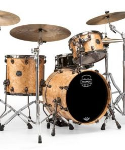 "Mapex Saturn V Exotic 18"" SV481XBMXN SV481XBMNL Maple Walnut Natural Maple Burl MXN Amber Maple Burl MNL batteria drumset drums drum"
