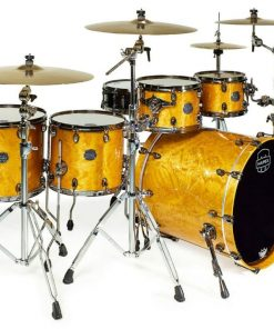 "Mapex Saturn V Exotic 22"" SV628XEBMNL Maple Walnut Amber Maple Burl MNL batteria drumset drums drum"