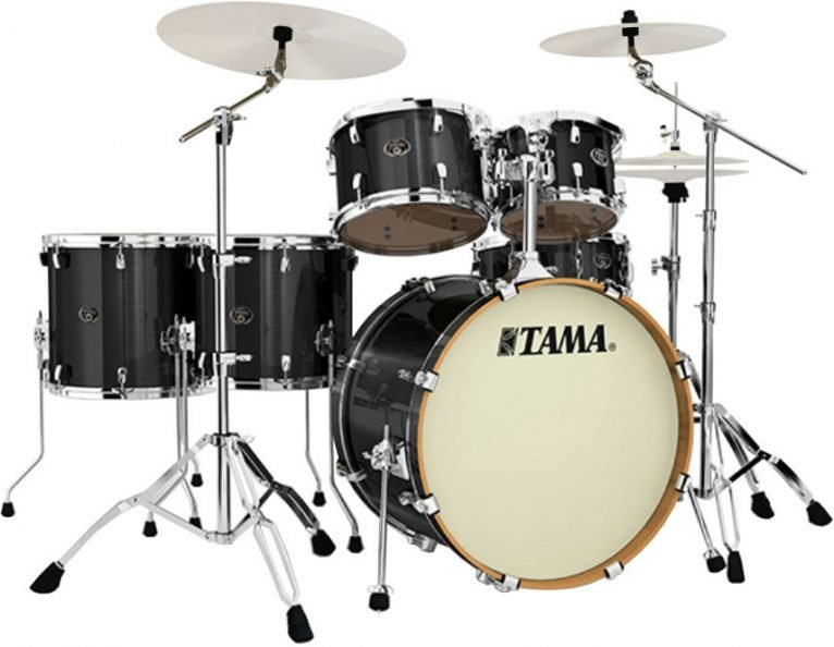 Tama Silverstar VD62RS-BCB Brushed Charcoal Black Drum Drums Drumset Batteria Betulla