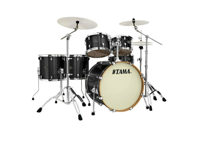 Tama Silverstar VD62RS-BCB Brushed Charcoal Black Drum Drums Drumset Batteria Betulla