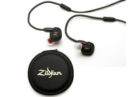 Zildjian Professional In Ear Monitor ZIEM1 Drum Drummers Batteria Cuffie Auricolari