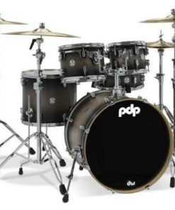 pdp concept maple 20 satin charcoil burst