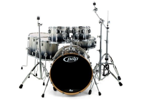 pdp concept maple 22 10 12 14 16 silver to black sparkle