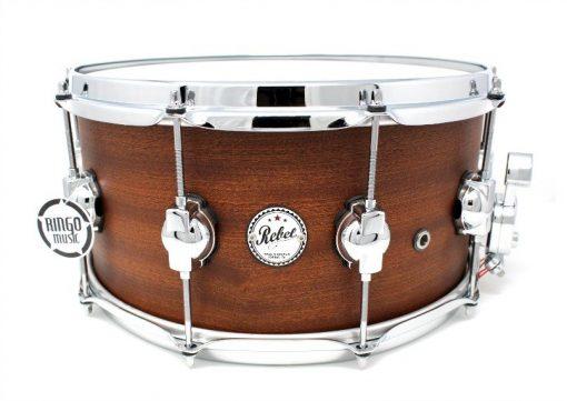 DS DrumSound Rebel Super Nature All Mahogany Snare Rullante Drum Sound Drums