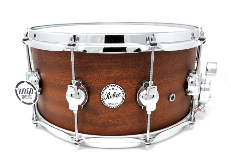 DS DrumSound Rebel Super Nature All Mahogany Snare Rullante Drum Sound Drums
