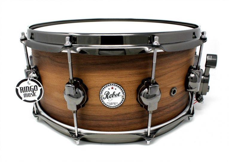 DS DrumSound Rebel Super Nature All Walnut Snare Rullante Drum Sound Drums