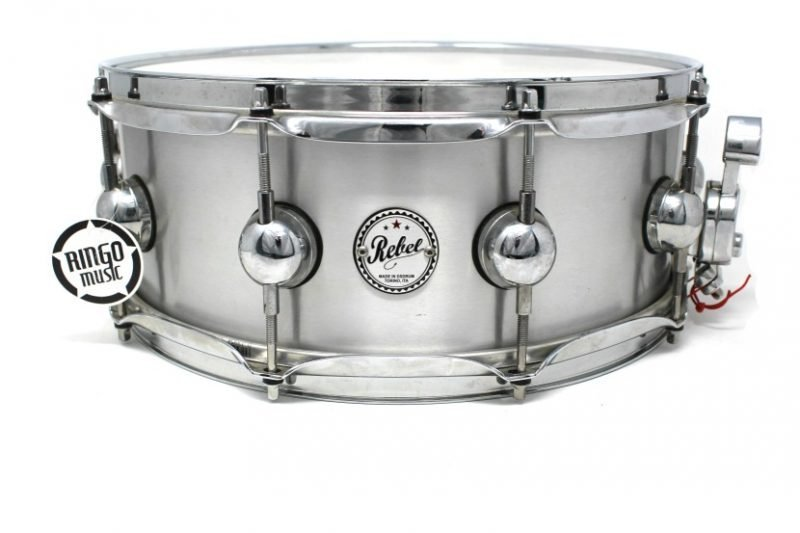 DS Drum Sound Rebel Metal Aluminum 14x5,5 snare snaredrum drum