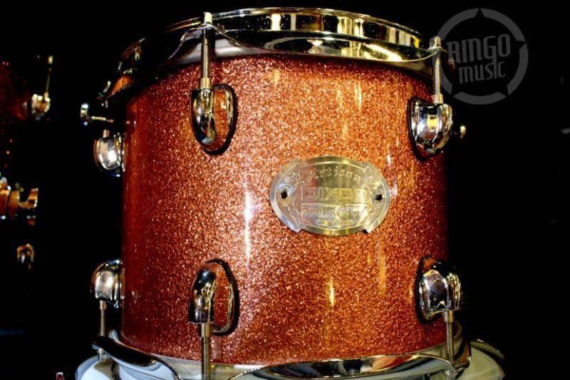 Dixon Artisan Maple Drum Drums Batteria Champagne Sparkle