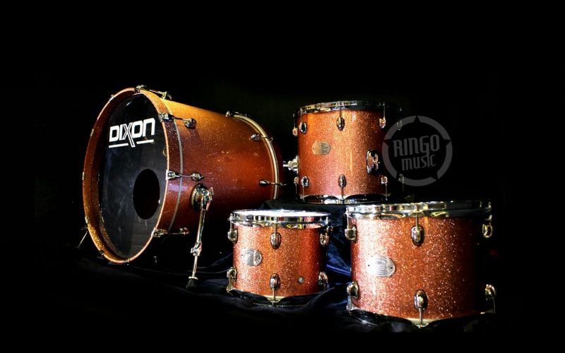 Dixon Artisan Maple Drum Drums Batteria Champagne Sparkle