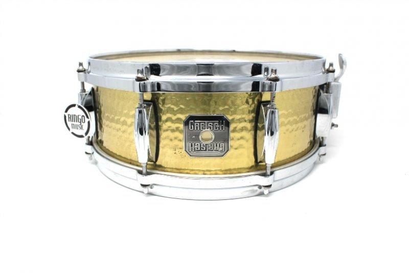 Gretsch Hammered Brass 13x5 S40513-HBR snare snaredrum drum