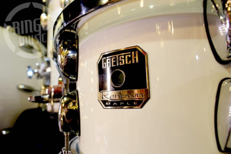 Gretsch Renown Maple Piano White Drum Drums Batteria
