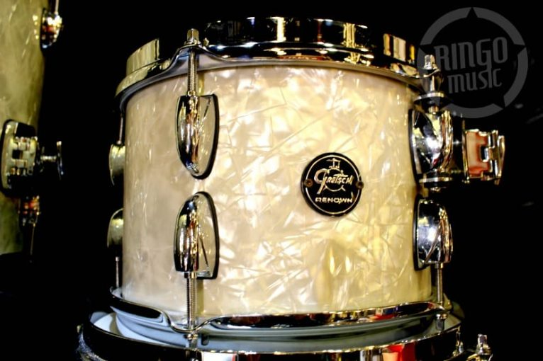 Gretsch Renown Maple RN2-E604 Vintage Pearl Drum Drums Batteria