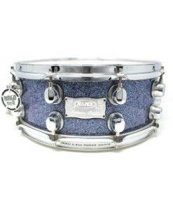 Mapex Saturn Ocean Blue sparkle 14x6 snare snaredrum drum1