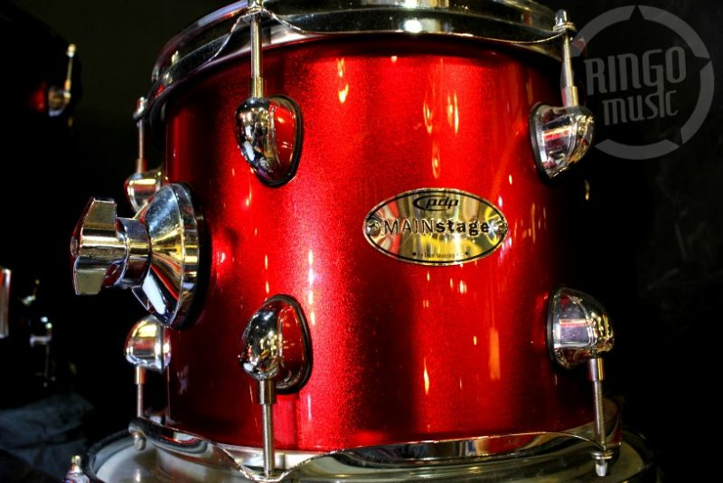 PDP Pacific Drums DW Mainstage Red Sparkle Drum Drums Batteria