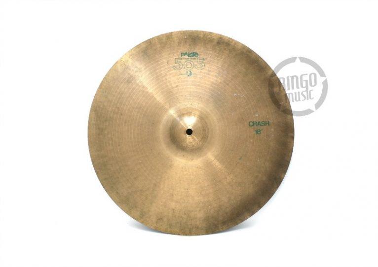 Paiste 505 Crash 18 Piatto Cymbal sito