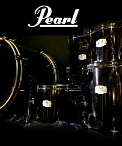 "Pearl Export Ex Series Set 22"" 10"" 12"" 14"" 16"" Jet Black rullante drum drumset drums batteria"