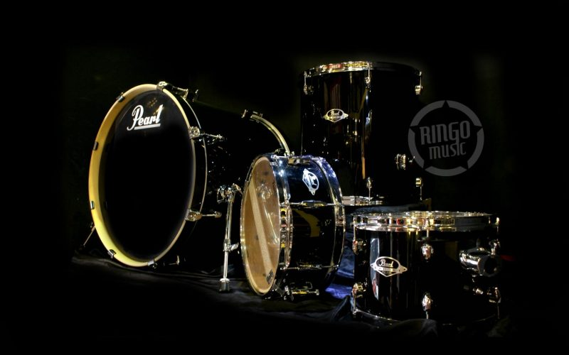 Pearl Export Series Black Smoke Drum Drums Batteria