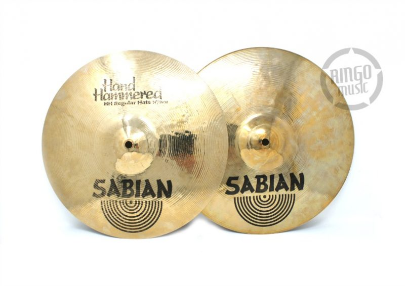 Sabian HH Hand Hammered Regular Hats Hi-hat 14 piatto cymbals