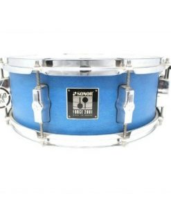 Sonor Force 2001 Blue Satin 14x5,5 snare snaredrum drum1