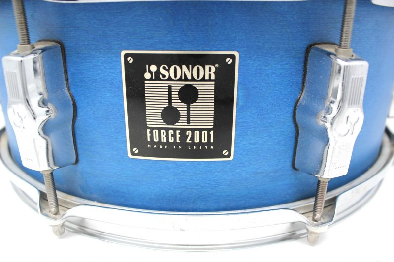 Sonor Force 2001 Blue Satin 14x5,5 snare snaredrum drum2