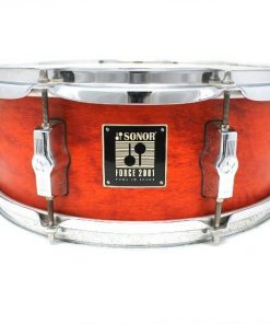 Sonor Force 2001 Orange Satin 14x5,5 snare snaredrum drum