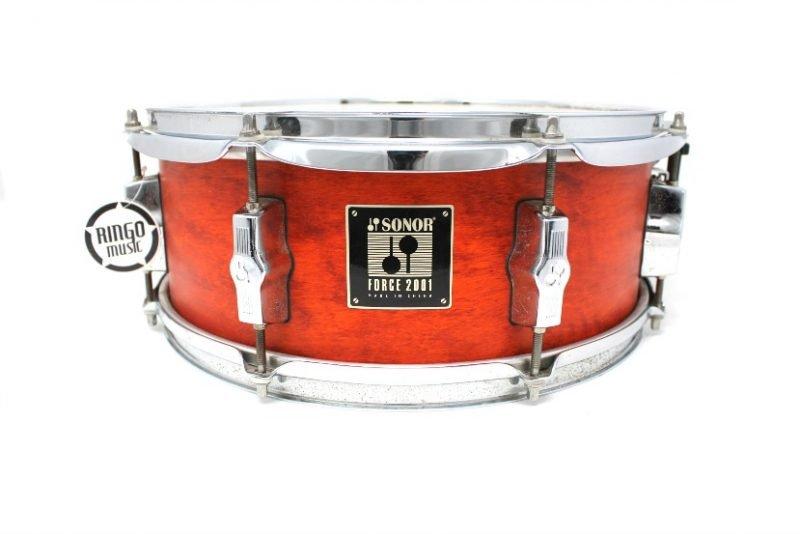 Sonor Force 2001 Orange Satin 14x5,5 snare snaredrum drum