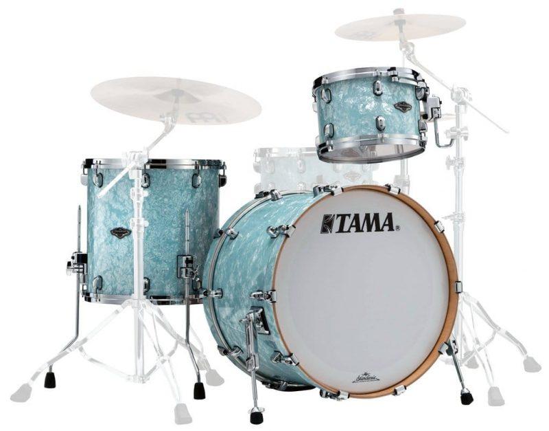 Tama Starclassic Bubinga Birch Betulla PR32RZS−IBP Ice Blue Pearl Performer Drum Drums Drumset Batteria