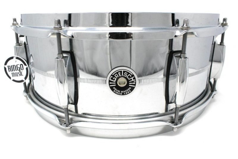 Gretsch Brooklyn Chrome Over Steel 14x5,5 GB4165S snare snaredrum drum