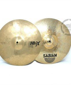 Sabian HHX Evolution 14 Hi-hat Hats Piatto Piatti Cymbal Cymbals