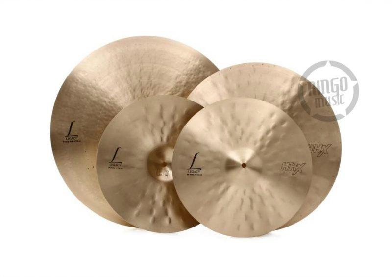 Sabian HHX Legacy Pack Set 15005XLN crash hats hi-hat ride o-zone ozone cymbals cymbal piatti piatto 3