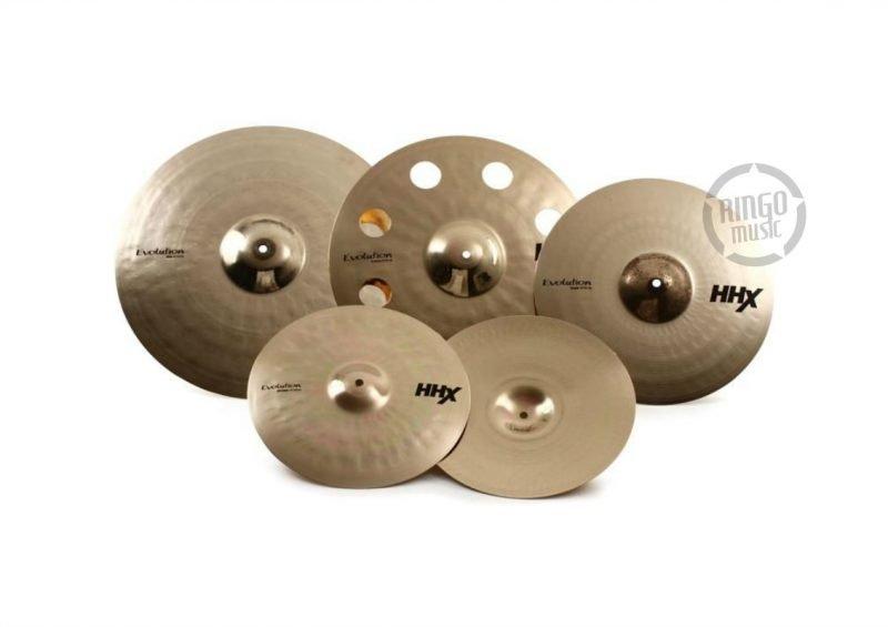 Sabian HHX Special Evolution Set 15005XEBP crash hats hi-hat ride o-zone ozone cymbals cymbal piatti piatto