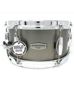 Tama Soundworks Steel 10x6,5 DST1055M Acciaio Satinato snare snaredrum drum1