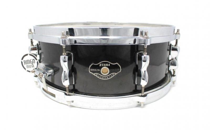 Tama Superstar 14x5,5 Piano Black snare snaredrum drum