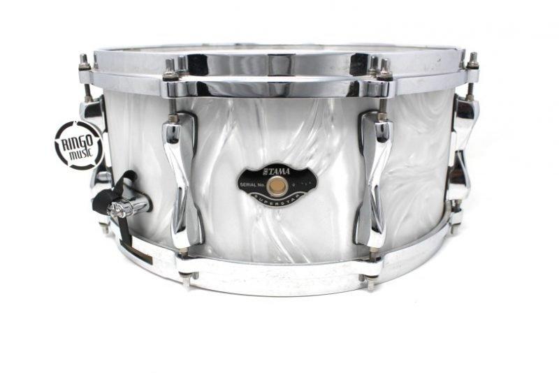 Tama Superstar EFX White Moire 14x6,5 snare snaredrum drum