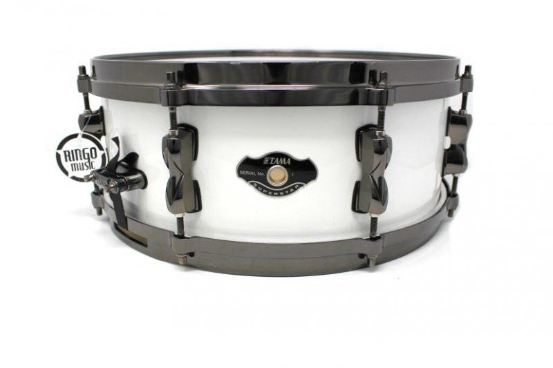 Tama Superstar Piano White 14x5,5 snare snaredrum drum